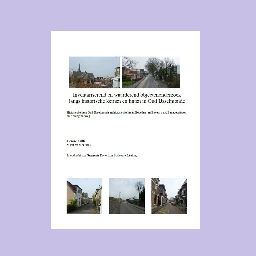 Beeldbepalende gebouwen in Oud-IJsselmonde