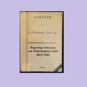 De Regerings-Almanak van Nederlands Indië 1815-1942;