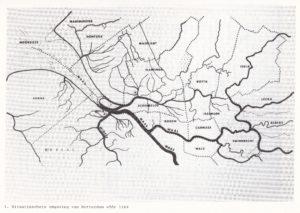 Kaart IJsselmonde (1164)