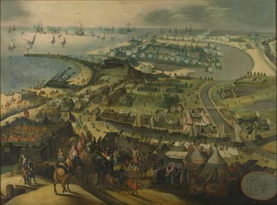 Beleg van Oostende door de Spanjaarden 1601-1604