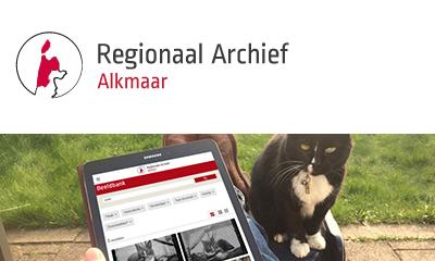 Vernieuwde website Regionaal Archief Alkmaar in de lucht