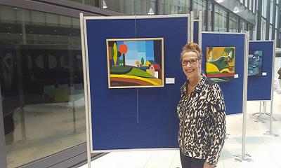 Opening expositie Lineke Kwikkers