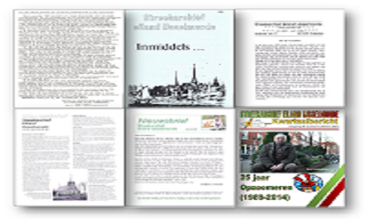 Nieuwsbrievenarchief van het Streekarchief nu online beschikbaar
