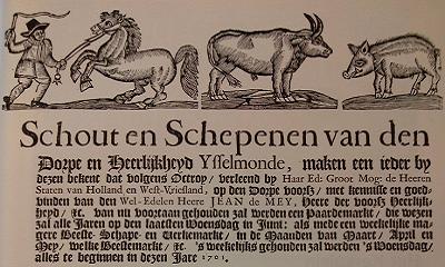 De Paardenmarkt van IJsselmonde