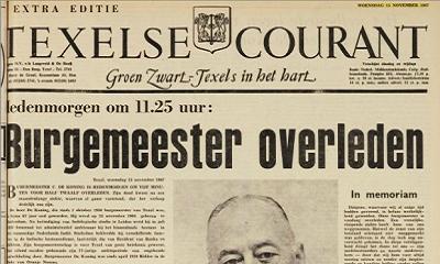 Digitaal archief Texelse Courant nu voor iedereen gratis toegankelijk