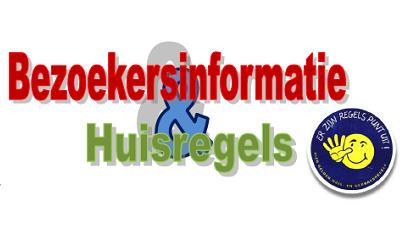 Bezoekersinformatie en Huisregels Streekarchief