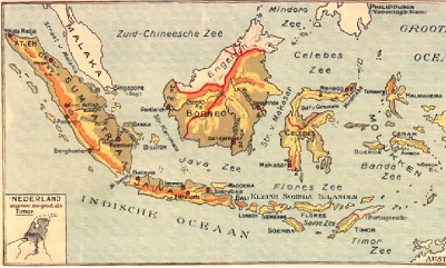 Geboren in Nederlands Indië