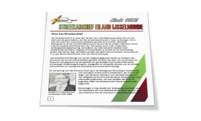 Folder Streekarchief Eiland IJsselmonde (2017)