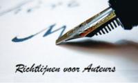 Richtlijnen voor auteurs