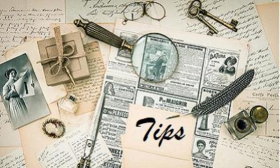 Tips voor beginnende stamboomonderzoekers