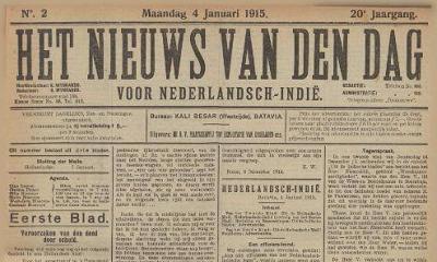 Onderzoeksnieuwtjes voor Nederlands-Indië