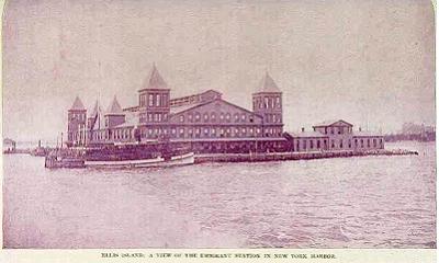 Emigratie naar Amerika (Ellis Island)