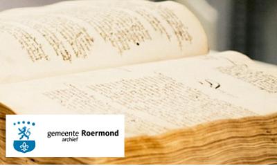 Nieuwe website gemeentearchief Roermond